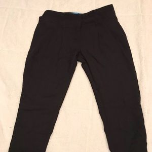 Size 14 Black Tapered Capris